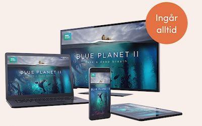 Canaldigital TV‑upplevelse  med OnePlace